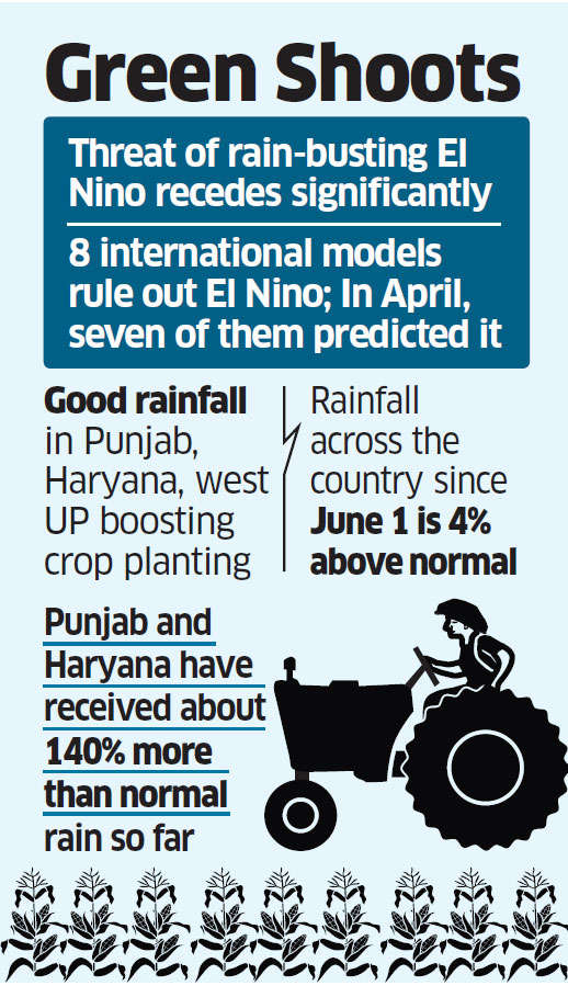 Good rains signal season of plenty for farm sector