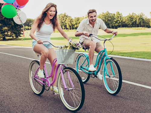Cycling to office can significantly lower your stress levels
