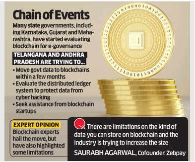 Blockchain tech is joining e-gov dots in AP, Telangana