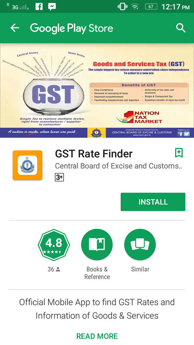 GST Rate Finder App launched to help you check the new rate on your purchase on the go