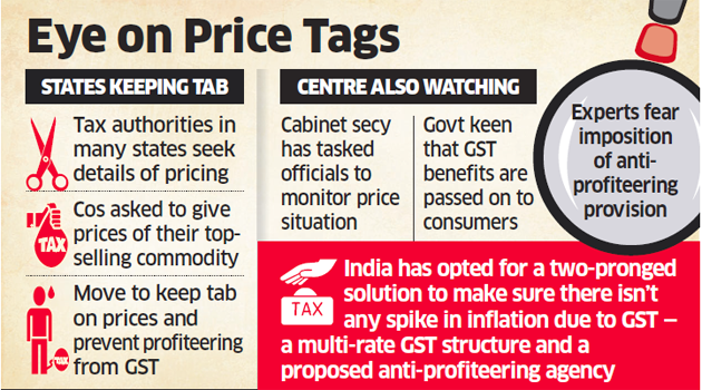 Cabinet approves Central, Integrated GST (Amendment) Bills, 2017