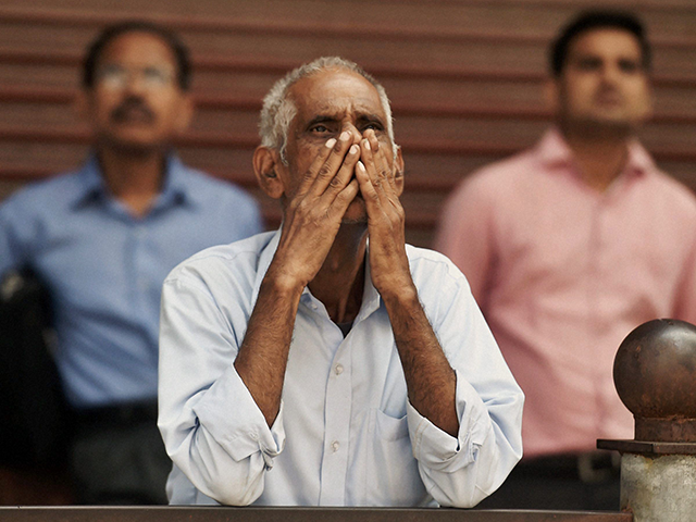 Sensex snaps five-day gaining streak; Nifty holds above 10,000