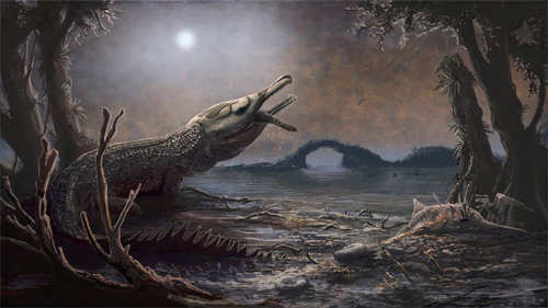 Jurassic crocodile fossil named after Lemmy