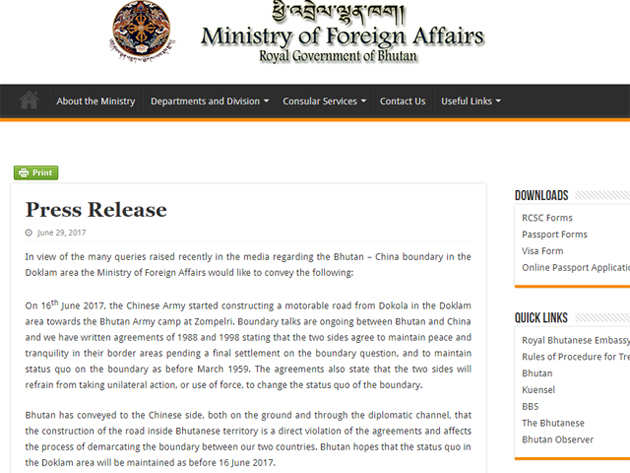 Doklam: How Chinese state media spreads lies on Bhutanese position