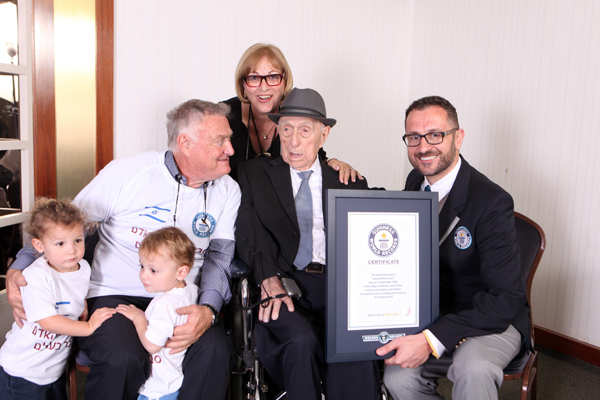 Israel Kristal The world's oldest man a Holocaust survivor passes away at 113