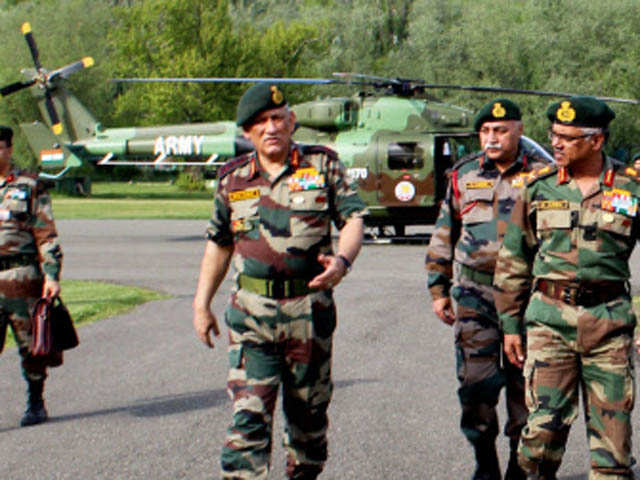 Army Chief Bipin Singh Rawat to visit Ladakh; to review border security
