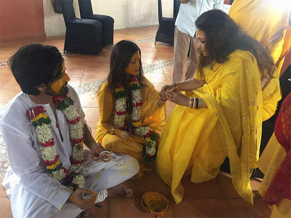 Riya Sen ties the knot with Shivam Tewari in private ceremony