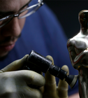 This is how Oscar statuettes are made