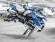 BMW and Lego make a motorbike that could fly