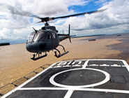 India's first heliport is ready for a takeoff