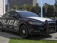 This new hybrid police car also saves fuel