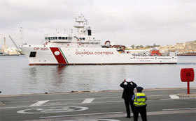 Italy's CGs rescue migrants in Mediterranean