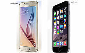 How iPhone 6 compares to its rival Galaxy S6