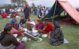 A look at life in Nepal after devastating quake
