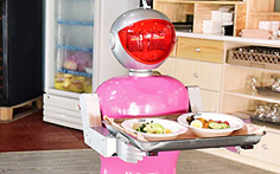 How robots are delivering food in China
