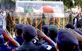 Last journey of former President Dr Abdul Kalam
