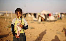 Youngest refugees bear brunt of Syrian war