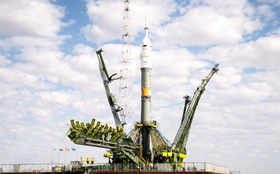 Soyuz TMA-18M spacecraft to carry crew to ISS
