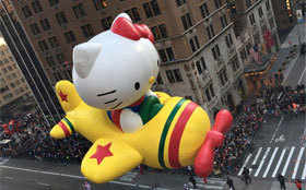 Choicest images: Macy's Thanksgiving Day Parade