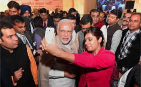 Diwali Milan: PM Modi reaches out to media