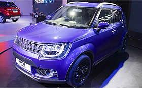 Maruti showcases new compact car Ignis