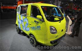 Now, hydrogen cell powered Tata Magic Iris Ziva
