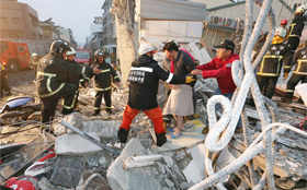 Deadly earthquake in Taiwan topples buildings