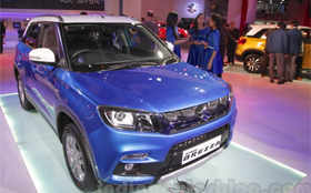 Vitara Brezza vs EcoSport vs TUV300: Comparison