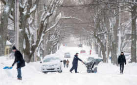 East Coast winter storm moves to Newfoundland