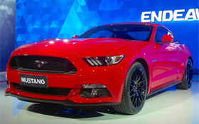 Ford showcased iconic Mustang at Auto Expo