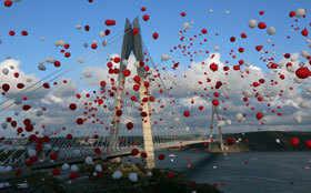 Turkey unveils 3rd bridge linking Europe with Asia