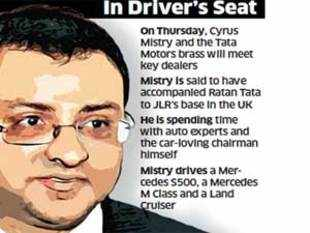 Will Cyrus Mistry speed up Tata Motors' business or bring a fundamental change