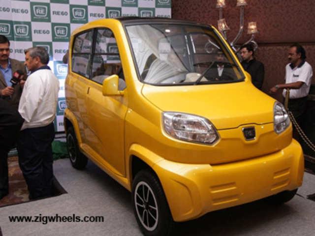 Bajaj Auto showcased its 'small car' at the 2008 Auto Expo - Bajaj ...