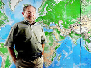 George Friedman the founder and CEO of Startfor (AP)