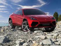 New Lamborghini Urus breaks cover at 2012 Beijing Motor Show