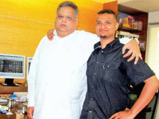 Rakesh Jhunjhunwala and Aditya Magal