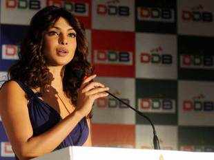 Actor-turned-singer Priyanka Chopra will unveil her first music single at American NFL next week. (BCCL)