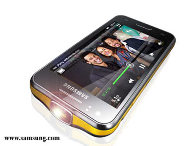 Galaxy Beam India S First Smartphone With Built In