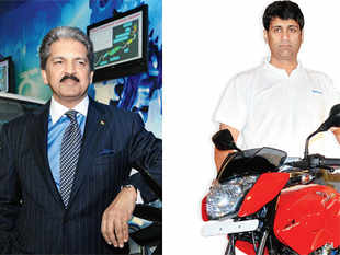 Anand Mahindra and Rajiv Bajaj have chosen two contrasting strategies to grow their automotives business: one believes in being present in various segments of mobility; the other is fanatically focused on the single segment of mobikes. Both may be right.