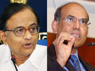 P Chidambaram and D Subbarao