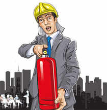 Most companies have hired vendors to keep a check the fire safety systems and conduct the fire safety drills in offices and malls from time to time.