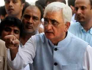 """Let them come to Farrukhabad and visit Farrukhabad. But let him also return from Farrukhabad,"" Khurshid said."