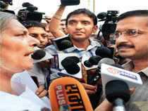 """""""We had put some questions to Robert Vadra and the prime minister. Let them answer first. Then, we will answer all questions from Digvijaya Singh,"""" said Kejriwal."""