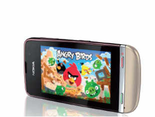 The 3-inch capacitive touchscreen provides good response, but the low resolution is a downer.