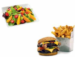 fast food vs healthy food essays