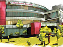 The stock is expected to outperform sector indices in the near term if Mahindra Satyam's latest quarterly performance is any indicator.