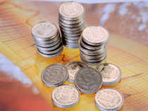 The rupee fell by 19 paise to 54.17 against the American currency in the late morning trade on month-end dollar demand from importers despite weak dollar overseas.