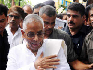 """I don't think there is any increase in political crime realistically,"" MK Narayanan said on the sidelines of a conference of Austalia India Institute. (File photo)"