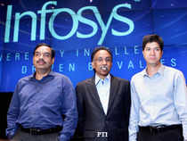 Though the infotech giant is losing its market share, it's in the analysts' good books because it is in a transitional phase, which will yield results only when the global economy recovers.