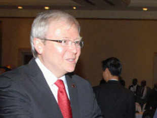 Days after Australia unveiled an ambitious plan of teaching languages like Hindi and Mandarin in schools, Kevin Rudd has appealed to the business community to keep a separate quota of jobs for students who can speak Asian languages.
